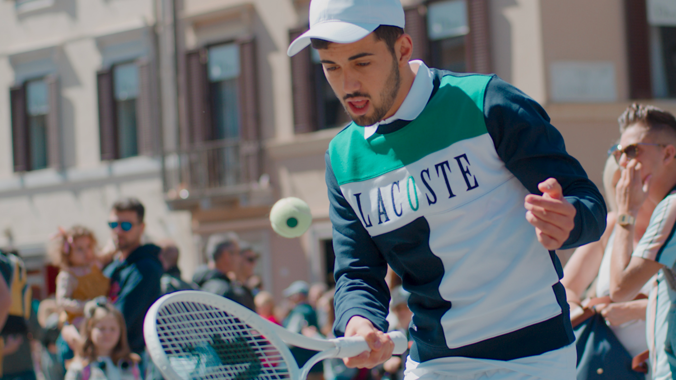 Lacoste Tennis In Rome